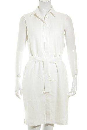 Massimo Dutti Kleid wollweiß klassischer Stil