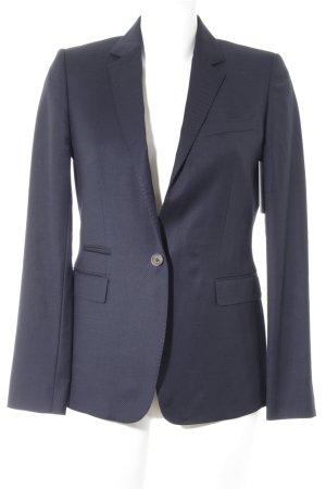 Massimo Dutti Kurz-Blazer dunkelblau Elegant