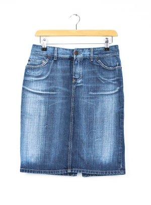 Massimo Dutti Gonna di jeans blu