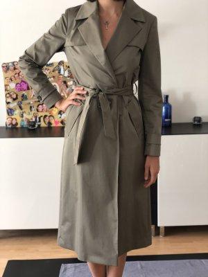 Massimo Dutti langer Trenchcoat | Größe S