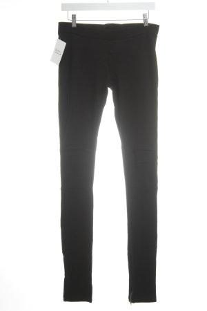 Massimo Dutti Leggings schwarz schlichter Stil