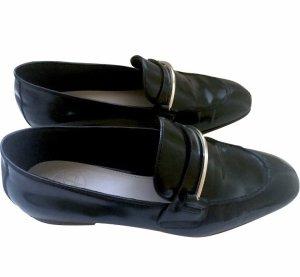Massimo Dutti Oxfords black