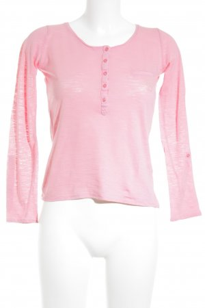 Massimo Dutti Longsleeve neonpink Casual-Look