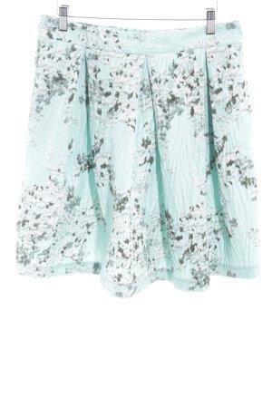 Massimo Dutti Minirock mehrfarbig extravaganter Stil