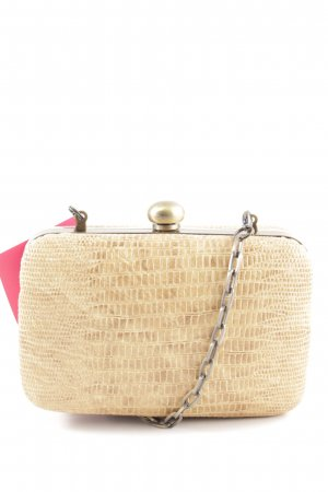Massimo Dutti Mini Bag cream-nude allover print elegant