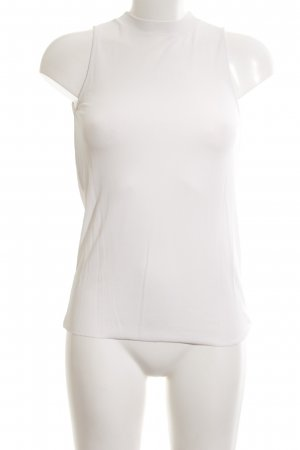Massimo Dutti Halter Top white casual look