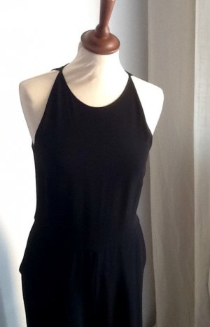 Massimo Dutti Midi-jurk rood-zwart