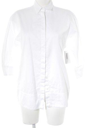 Massimo Dutti Oversized blouse wit elegant