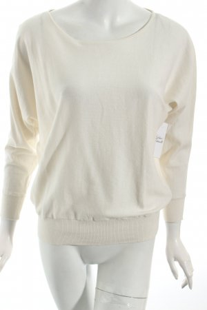 Massimo Dutti Oversized Sweater natural white minimalist style