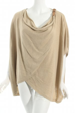 Massimo Dutti Poncho camel Casual-Look
