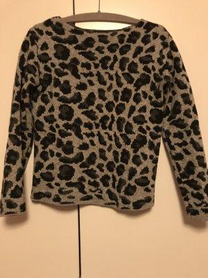 #Massimo Dutti #Pullover mit Leopardenmuster