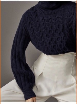 Massimo Dutti Pullover Wolle/ Kaschmir XS