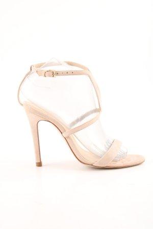 Massimo Dutti Riemchen-Sandaletten nude Casual-Look
