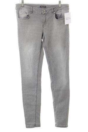 Massimo Dutti Röhrenjeans grau schlichter Stil