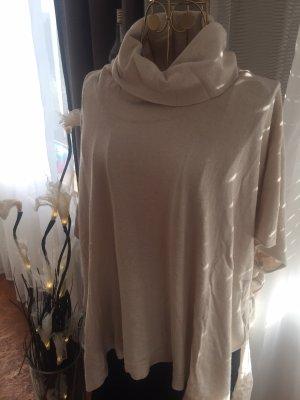 Massimo Dutti Oversized Sweater beige