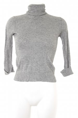 Massimo Dutti Turtleneck Sweater grey-light grey casual look