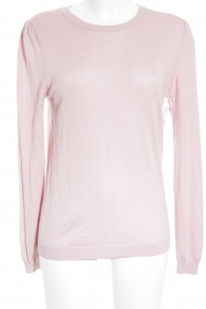 Massimo Dutti Crewneck Sweater pink casual look