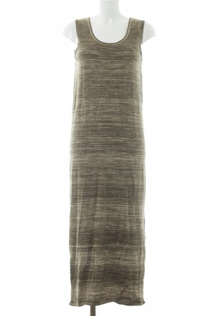 Massimo Dutti Tube Dress khaki flecked casual look