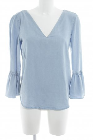 Massimo Dutti Blouse à enfiler bleu azur Aspect de jeans