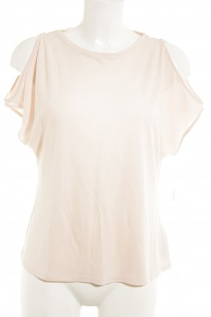 Massimo Dutti schulterfreies Top hellrosa Casual-Look