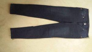 Massimo Dutti, scwarze Jeans Gr. Skinny fit, Gr. USA 6, neuwertig