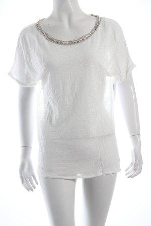 Massimo Dutti Shirt weiß klassischer Stil