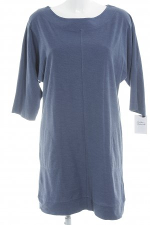 Massimo Dutti Shirtkleid blau Casual-Look