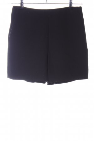 Massimo Dutti Shorts schwarz Casual-Look