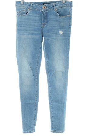 Massimo Dutti Jeans skinny blu stile casual