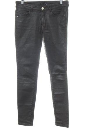 Massimo Dutti Jeans skinny nero stile casual