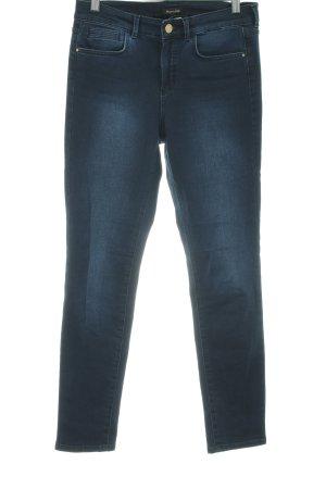 Massimo Dutti Skinny Jeans dunkelblau