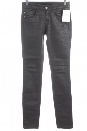 Massimo Dutti Skinny Jeans dunkelbraun Casual-Look