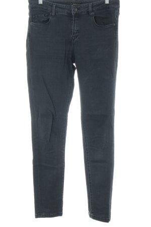 Massimo Dutti Skinny Jeans schwarz Casual-Look