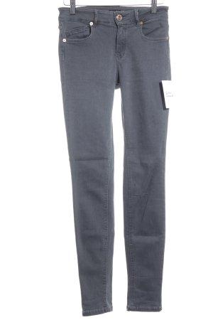 Massimo Dutti Vaquero skinny gris look casual