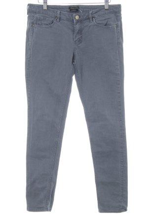 Massimo Dutti Skinny Jeans grau schlichter Stil
