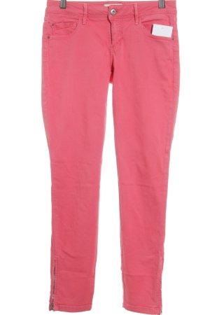 Massimo Dutti Skinny Jeans magenta Casual-Look