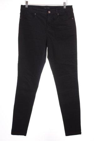 Massimo Dutti Skinny Jeans schwarz-bronzefarben schlichter Stil