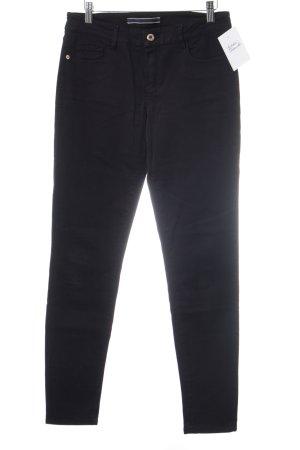 Massimo Dutti Skinny Jeans schwarz schlichter Stil