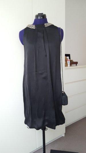 Massimo Dutti sleeveless silk bell dress