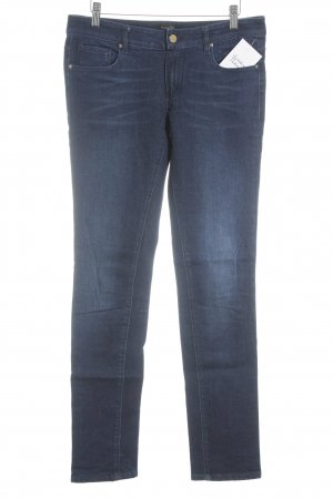 Massimo Dutti Slim Jeans dunkelblau Casual-Look
