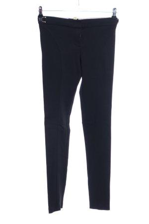 Massimo Dutti Pantalon fuseau noir style décontracté