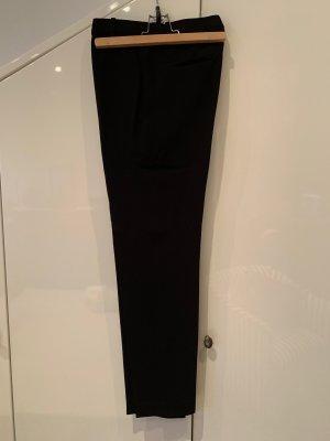 Massimo Dutti Pantalon à pinces noir
