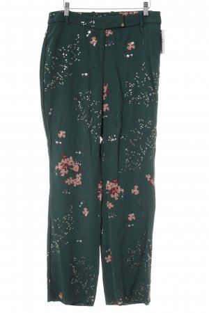 Massimo Dutti Stoffhose florales Muster Boho-Look