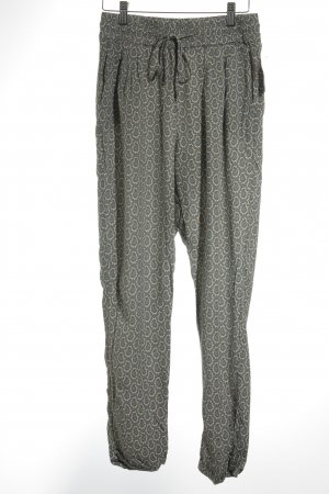 Massimo Dutti Stoffhose florales Muster Casual-Look