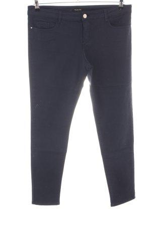 Massimo Dutti Stretch broek blauw casual uitstraling