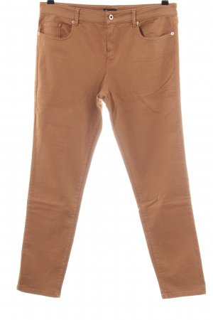 Massimo Dutti Stretch broek bruin casual uitstraling
