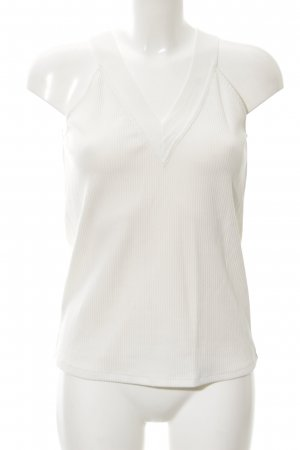 Massimo Dutti Knitted Top white casual look