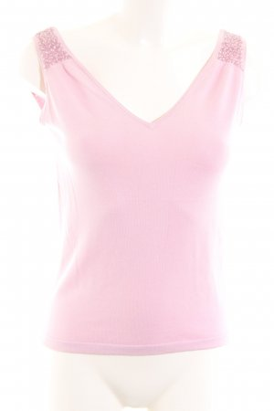 Massimo Dutti Knitted Top pink casual look