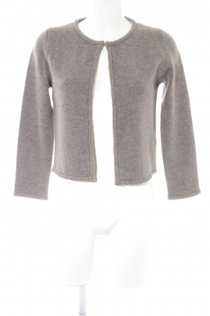 Massimo Dutti Knitted Vest grey-light grey casual look