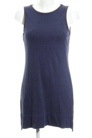 Massimo Dutti Sweatkleid blau Casual-Look